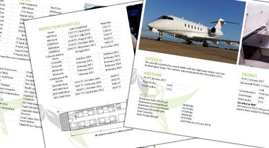 Understanding an Aircraft Spec Sheet