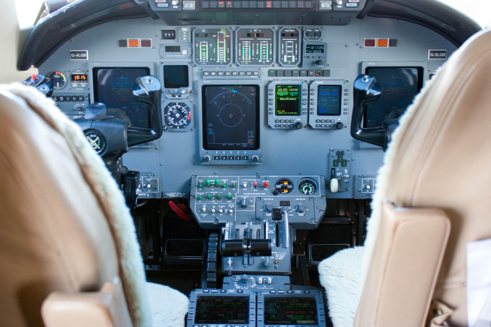Citation Excel Cockpit