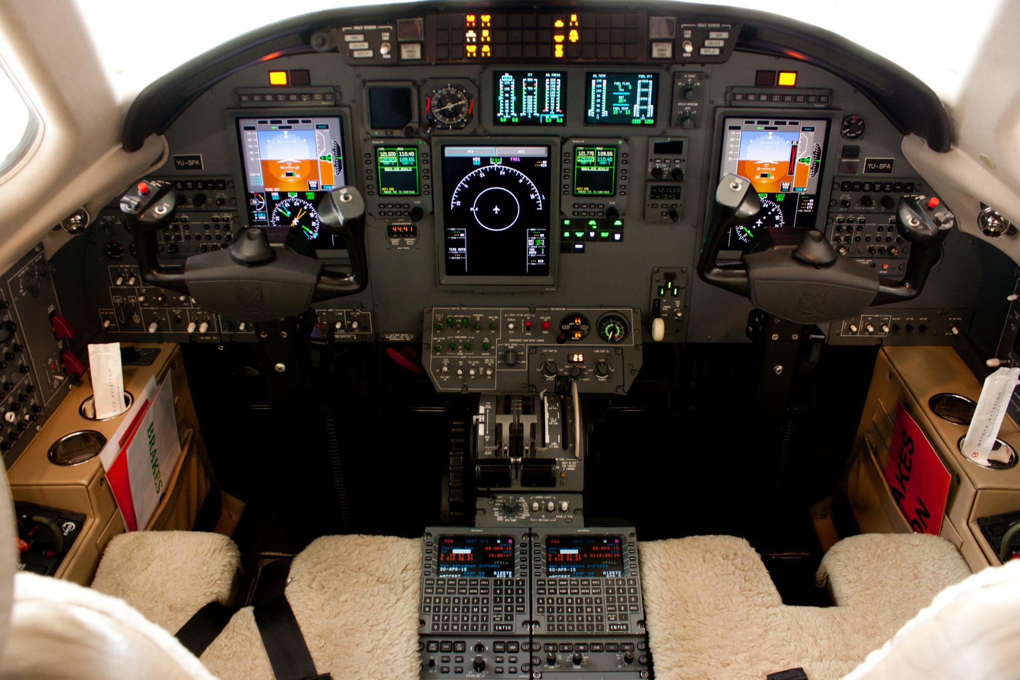 Citation XLS Cockpit