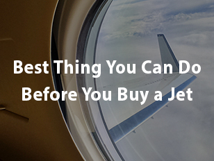 Before you buy a jet